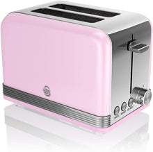 Load image into Gallery viewer, Swan ST19010CN 2-Slice Retro Toaster, 815 W, Cream - iBuy Africa