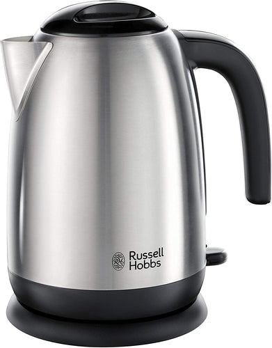 Russell Hobbs Cambridge 3000 W Kettle 20070, Stainless Steel Silver Kettle Adventure Brushed Kettle - iBuy Africa