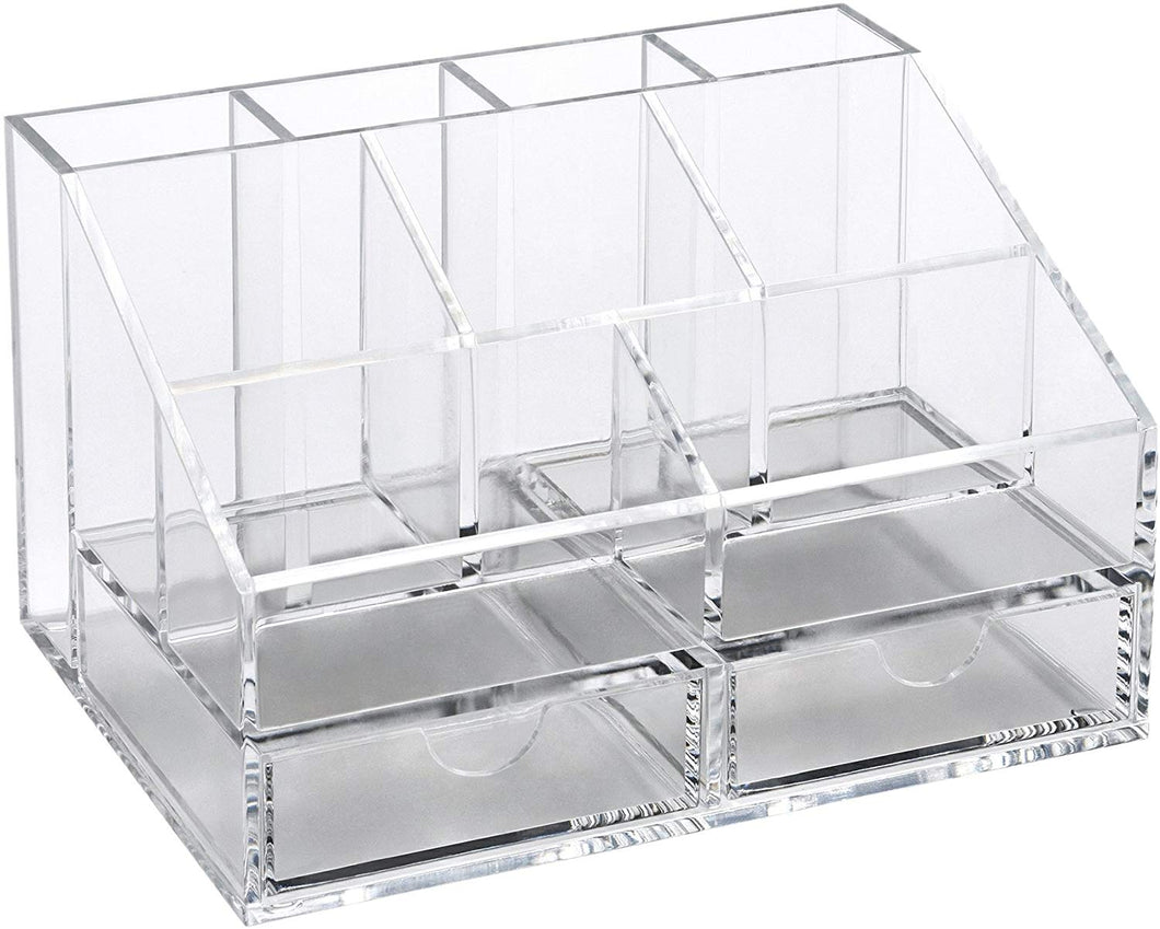 OSCO White Hi-Gloss Desk Organiser Clear (Small) - iBuy Africa
