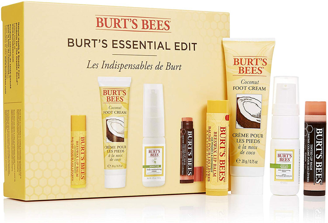 Burt's Bees® Burt's Essential Edit: 4 piece Natural Gift Set Essential Edit Kit - iBuy Africa