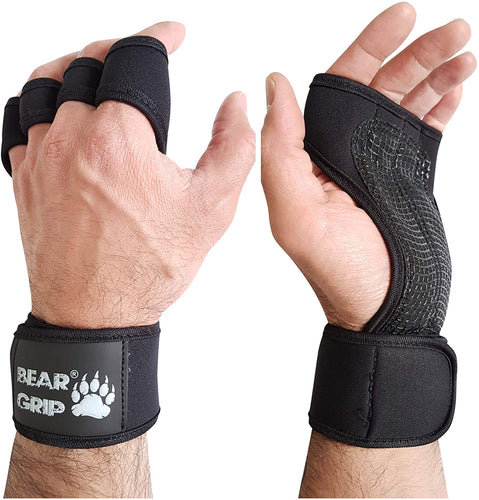 BEAR GRIP - Open Workout Gloves for Crossfit, Bodybuilding, callisthenics, Powerlifting - iBuy Africa