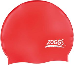 Zoggs Silicone Swimming Cap Red - iBuy Africa