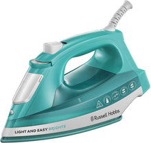 Load image into Gallery viewer, Russell Hobbs 24840 Light and Easy Bright Iron, 2400 W, Aqua - iBuy Africa