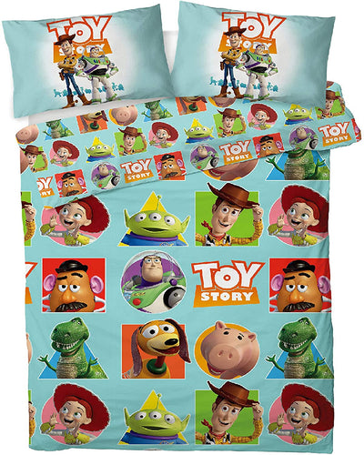 Disney Toy Story 4 Double Duvet Cover Bedding Set With Matching Pillow Cases - iBuy Africa