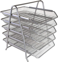 Load image into Gallery viewer, OSCO Mesh 5 Tier Tray - Silver - iBuy Africa