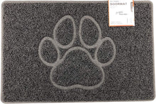 Load image into Gallery viewer, PAW Embossed Shape Door Mat Dirt-Trapper - iBuy Africa