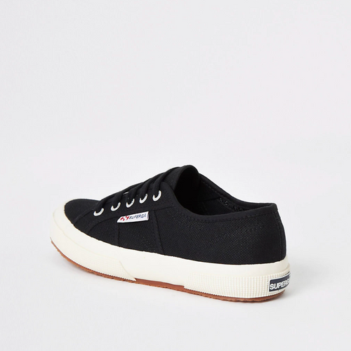 Superga black classic runner trainers - iBuy Africa