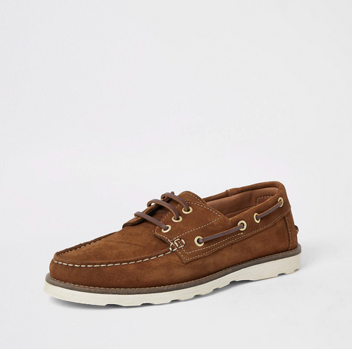 Brown suede boat shoes - iBuy Africa