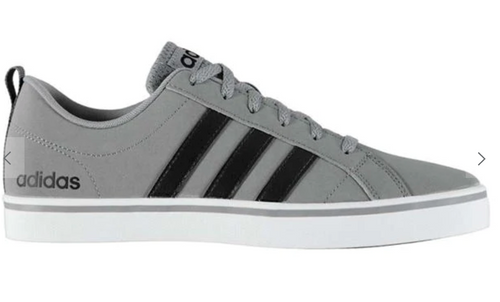 ADIDAS Pace VS Nubuck Mens Trainers - Grey/ Black/ White - iBuy Africa