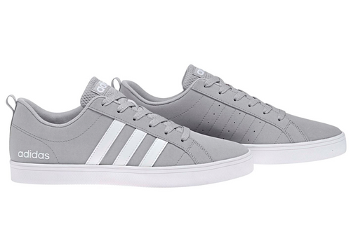 ADIDAS Pace VS Nubuck Mens Trainers - Light Grey/ White/ White - iBuy Africa