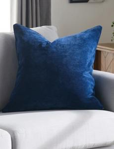 Soft Velour Cushion - Assorted Colours - iBuy Africa
