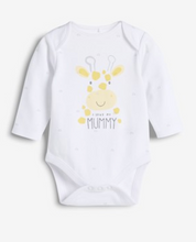 Load image into Gallery viewer, White I Love Mummy Long Sleeve Bodysuit 0 - 18 months - iBuy Africa