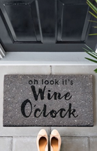 Load image into Gallery viewer, Wine O'Clock Doormat - iBuy Africa