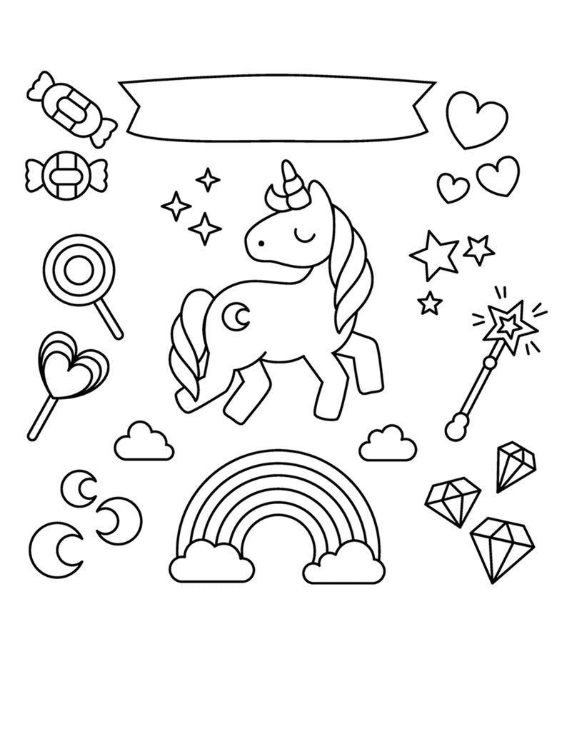 Unicorn Printable Coloring Pages Unicorn Coloring Pages Printable Ibuy Africa