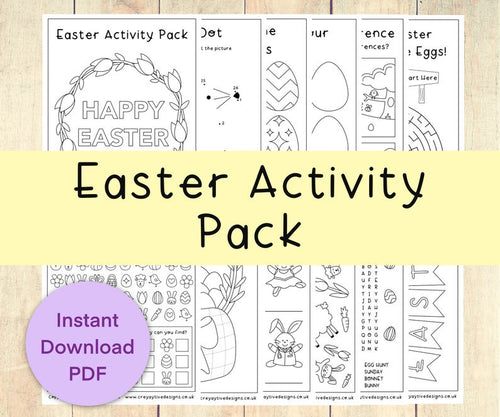 Printable Easter Activity Pack / Instant Download Kids Activity - iBuy Africa