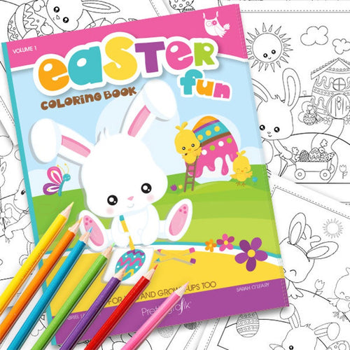 Easter Coloring book, Printable colouring book, easter colouring pages, easter coloring book, instant download PDF - CB100 - iBuy Africa