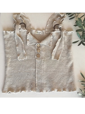 Hemp summer knit top - Hemp Horizon