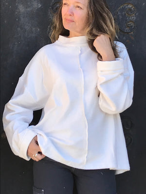 Hemp Bamboo Fleece sweatshirt top - Hemp Horizon