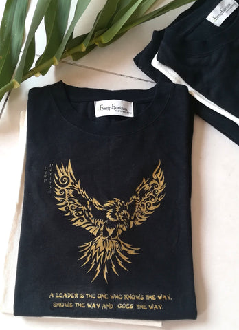 Hemp Eagle T-Shirt - Hemp Horizon