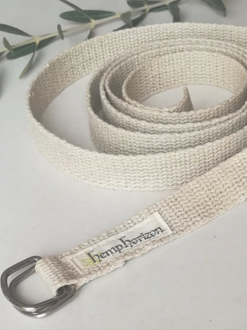 Hemp yoga strap - Hemp Horizon