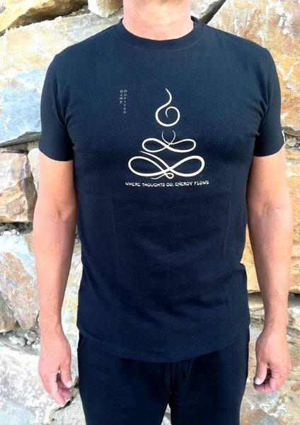 Hemp Organic Cotton T'shirt With Buddha Print - Hemp Horizon