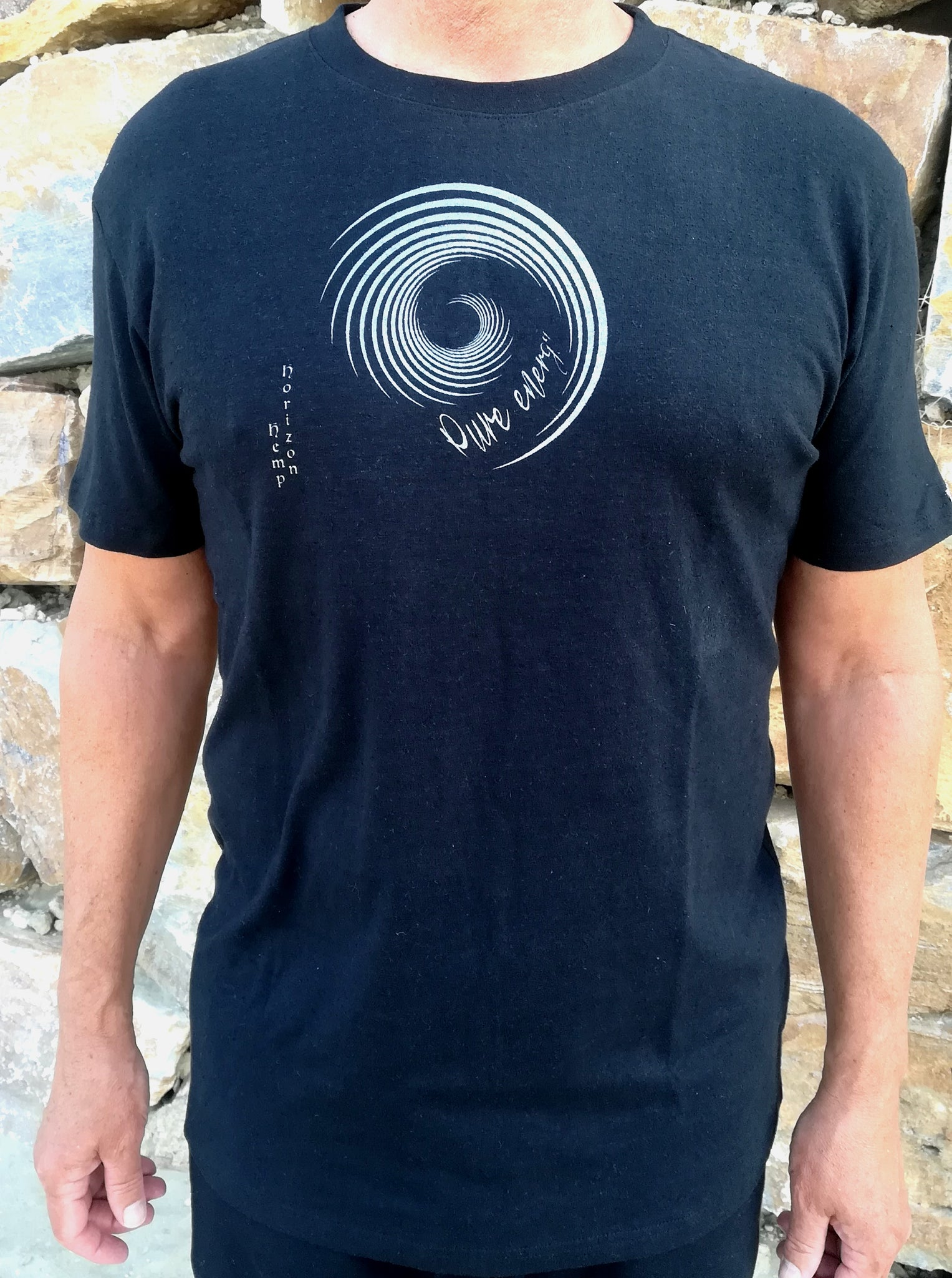 Hemp Pure Energy T-shirt - Hemp Horizon