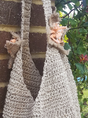 Knitted hemp bag - Hemp Horizon