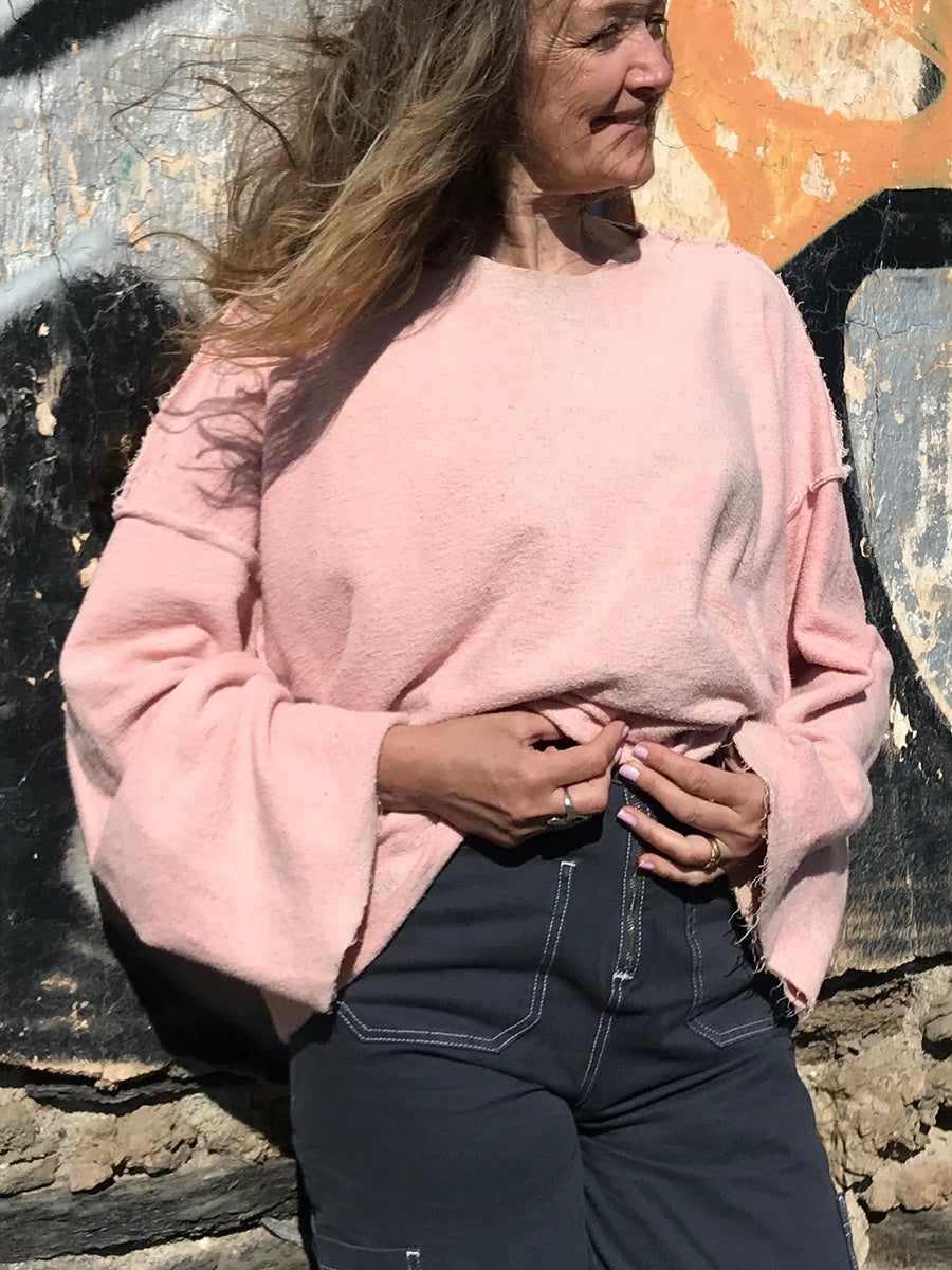 Hemp oversized sweatshirt - Hemp Horizon
