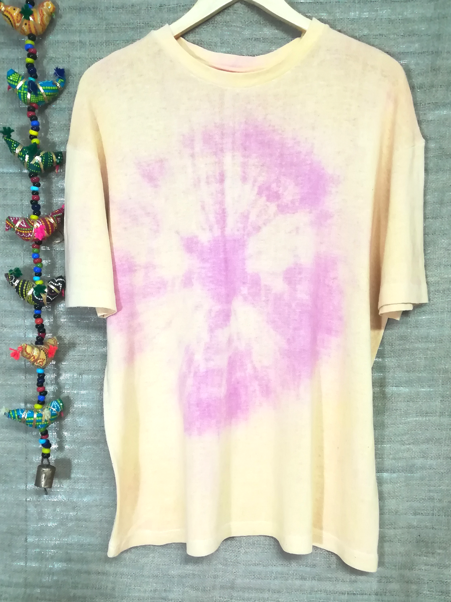 Hemp tie dyed unisex t'shirt - Hemp Horizon