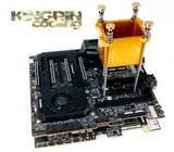 Kingpin cooling T-REX CPU container GOLD (Pre Order Now UK only)