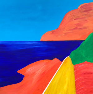 Teddy McDonald contemporary fine art capri italia sea island landscape