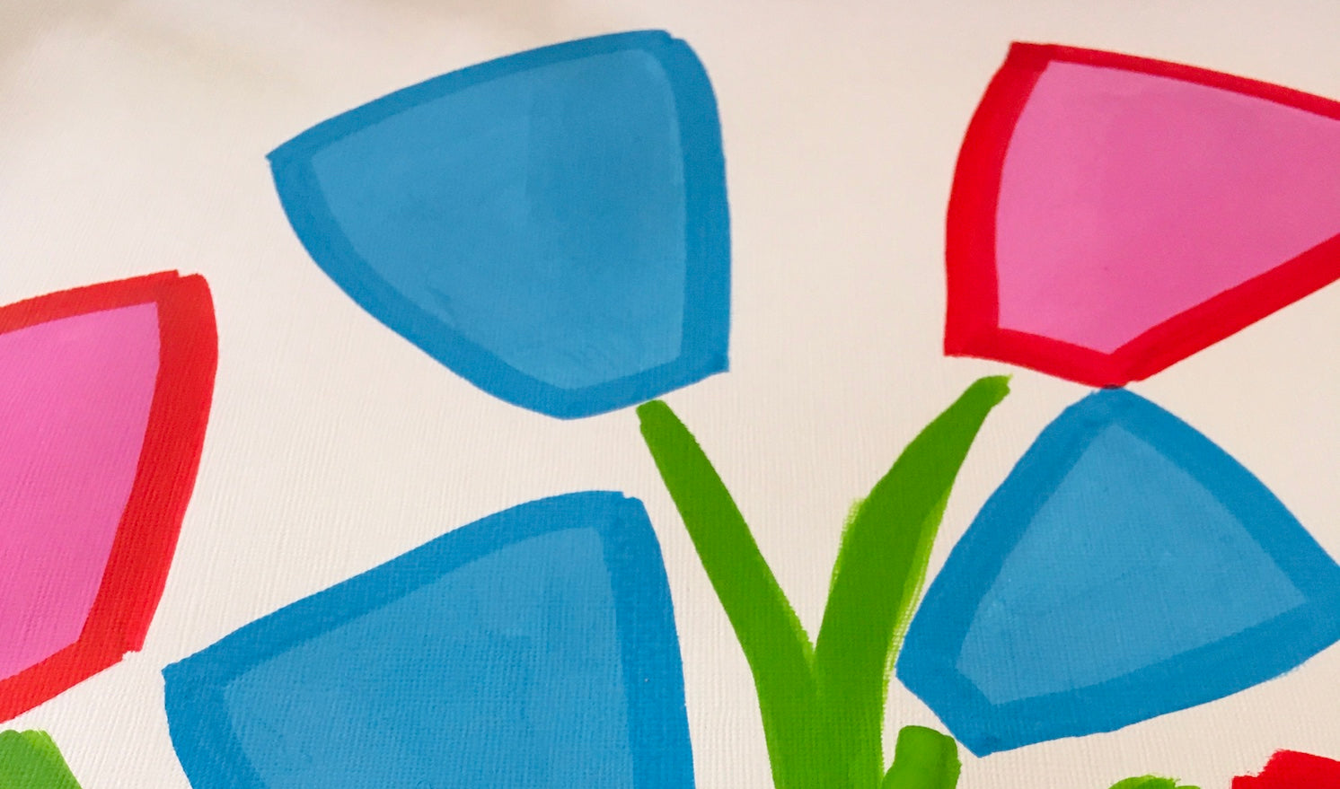 Teddy McDonald contemporary fine art plants flowers detail painting