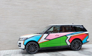 Teddy McDonald Range Rover Autobiography Art Car teddy m