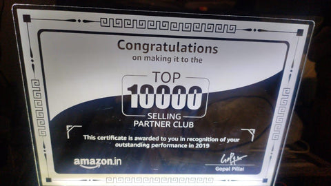 Amazon 2019 Award (Recent)