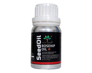 Rosehip Oil (50 ML) | Pure & Natural Cold Pressed Carrier Oil Therapeutic Grade