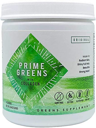 Prime Greens With Collagen