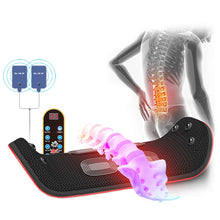 Load image into Gallery viewer, Electric Lumbar Traction Device Waist Back Massager