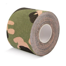 Load image into Gallery viewer, 5M Waterproof Breathable Cotton Kinesiology Tape Sports Elastic Roll Adhesive Muscle Bandage Pain Care Tape Knee Elbow Protector