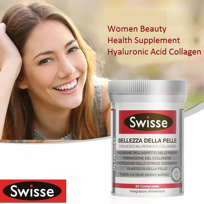 Swisse Bellezza Della Pelle Healthy Hair Nails Skin Gummies