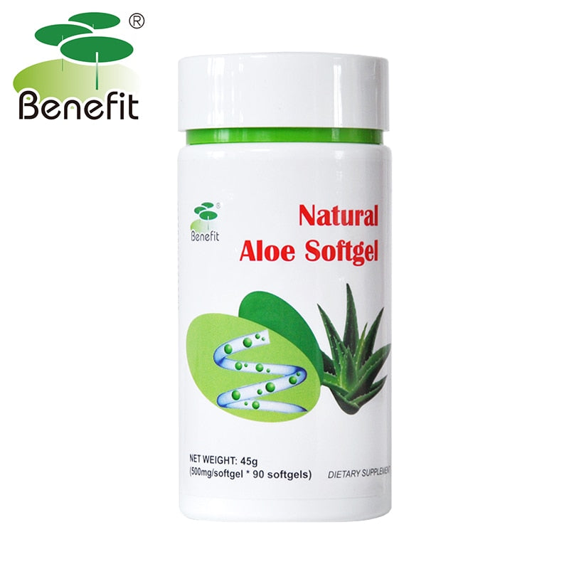 Aloe Softgel Natural Herbal Supplement