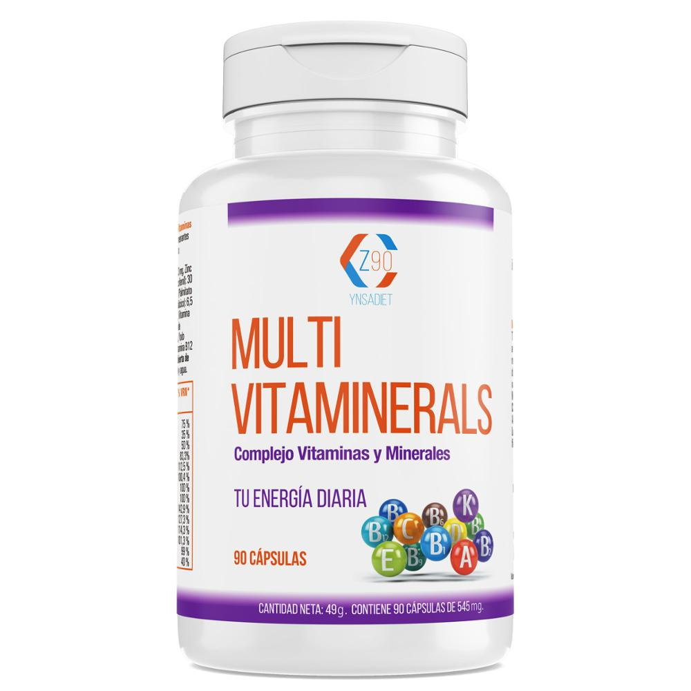 Vitamins with minerals | Vitamin C, B2, B3, B5, b6 and B12