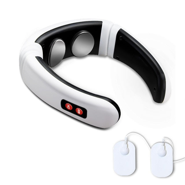 Electric Neck Massager & Pulse Back 6 Modes Power Control