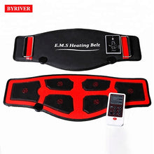 Load image into Gallery viewer, BYRIVER EMS Electric Slim Belt FIR Heating Waist Belly