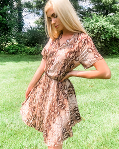Shaina Snake Dress