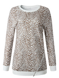 Evelyn Cheetah Sweatshirt Dress/Top