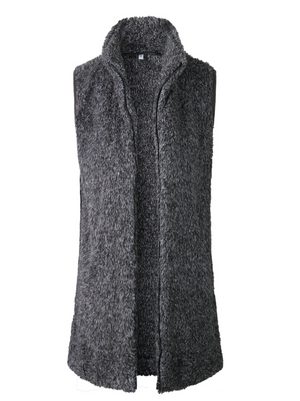 Riley Sherpa Zip-Up Vest