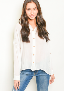 Whispy White Blouse