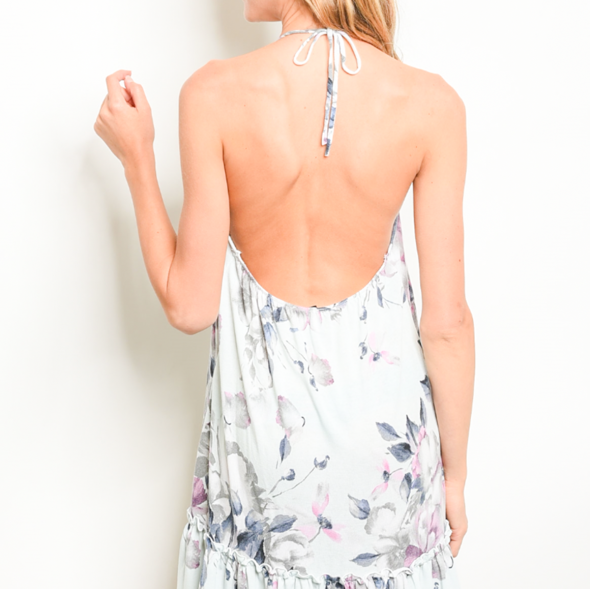 Take Me To The Festival Sage Floral Dress