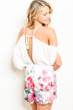 1 MEDIUM LEFT! Ainsley Floral Romper