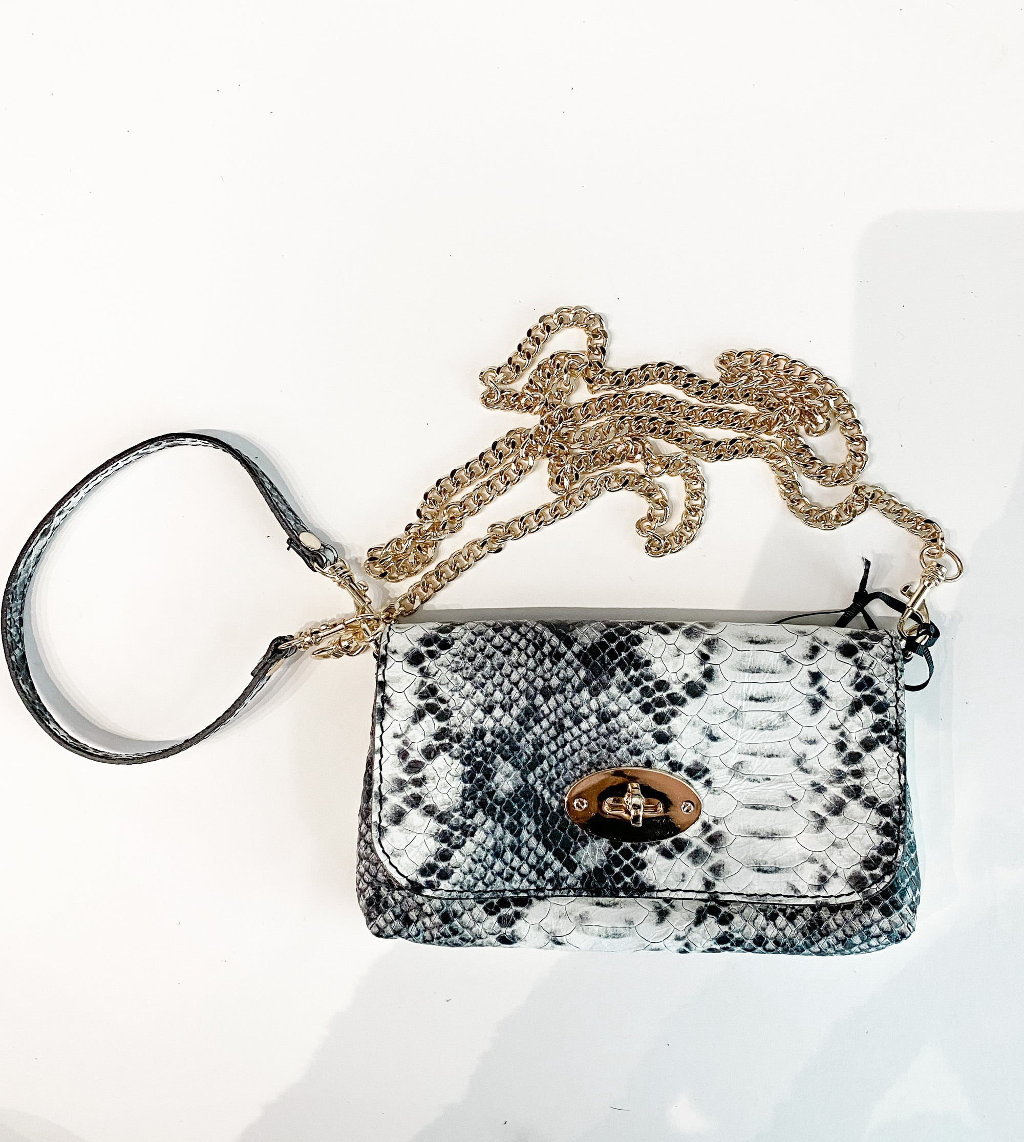 On the Go Purse | Black Snake